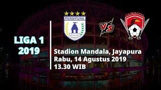 VIDEO: Live Streaming Liga 1 2019 Persipura vs Kalteng Putra Rabu (14/8) Pukul 13.30 WIB