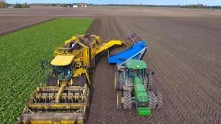Crop Chaser Sugar Beet Dump Cart