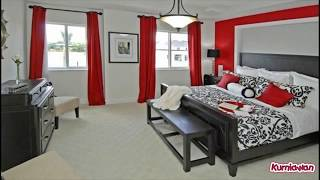 Red Black And White Bedrooms
