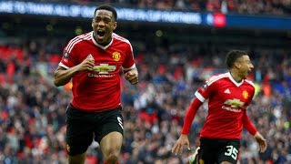 Anthony Martial Extra-Time Goal vs Everton●FA Cup Semifinal●
