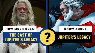 How Much Does The Cast of Jupiter's Legacy Know About Jupiter's Legacy? by IGN