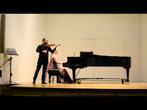 "Ernest Bloch ""Baal Shem"" for Violin and Piano"