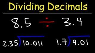Dividing Decimals - Not So Easy!