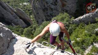 preview picture of video 'Ferrata Foradada del Toscar'