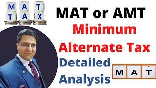 Minimum Alternative Tax MAT | Income Tax Section 115JB | Part 1