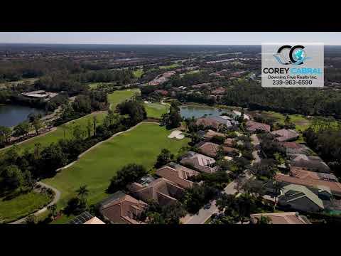 The Strand Golf & Country Club Naples FL 360 Aerial Real Estate Homes & Condos