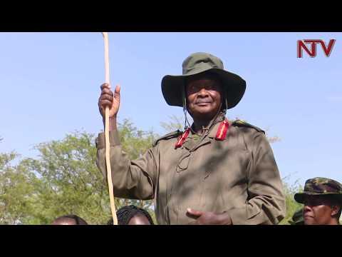 Museveni akamudde ababaka entuuyo, buli omu amuwadde ente
