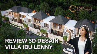 Video Desain Kompleks Villa Modern 2 Lantai Ibu Lenny (Seminyak East Development) di  Kerobokan, Badung, Bali