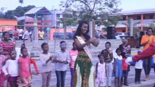 Maggaly Ornellia Emmanuelle Nguema Gabon Miss Universe 2014 Official Interview
