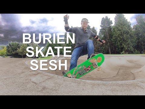 Skateboarding Seattle (Burien)