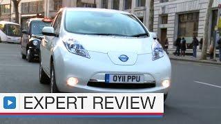 Nissan Leaf hatchback expert car review ( pre-facelift )