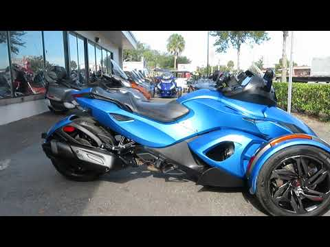 2016 Can-Am Spyder RS-S SE5 in Sanford, Florida - Video 1