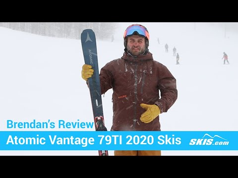Video: Atomic Vantage 79 TI Skis 2020 3 40