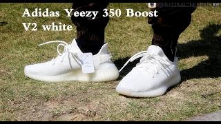 Yeezy 350 V2 Black White Real vs. Fake