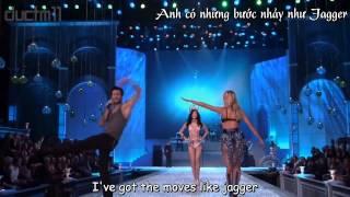 [vietsub- lyrics] Moves Like Jagger- Maroon 5 (The Victoria Secrets Fashion Show)