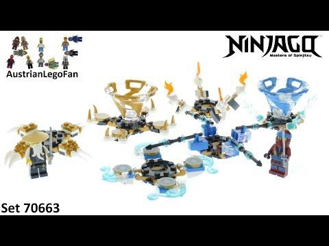 Vidéo LEGO Ninjago 70663 : Toupies Spinjitzu Nya & Wu