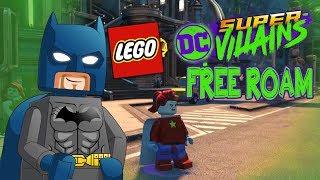 LEGO Dc Super Villains Free Roam Metropolis & Daily Planet!