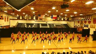 """2018 Westwood Dance Classic - Team Jazz """"Holding Out for a Hero"""""""