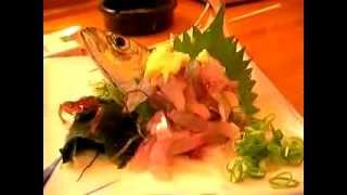 Жесть. Ужасающие деликатесы из Японии, fish alive dinner