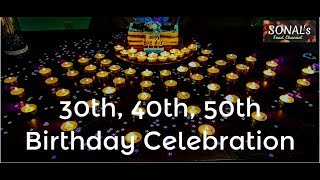 DIY | Birthday Decoration Ideas For Adults | 30th, 40th, 50th, 65th At Home