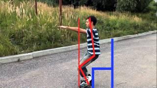 Смотреть онлайн Учимся кататься на роликах