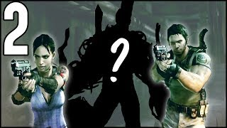 What The Fluff Is That?! ATTACKED By An Evil Boss Monster! - Resident Evil 5 Co-Op Walkthrough