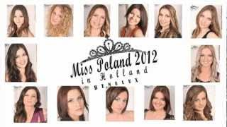 OFFICIAL- MISS POLAND in BENELUX 2012 Promo | www.misspoland.nl