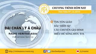 CHƯƠNG TRÌNH PHÁT THANH, THỨ NĂM 07112019