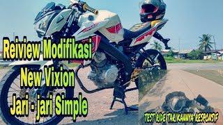 Reiview Dan Test Ride Yamaha New Vixion Modifikasi
