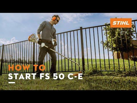 Stihl FS 50 C-E in Mio, Michigan - Video 1