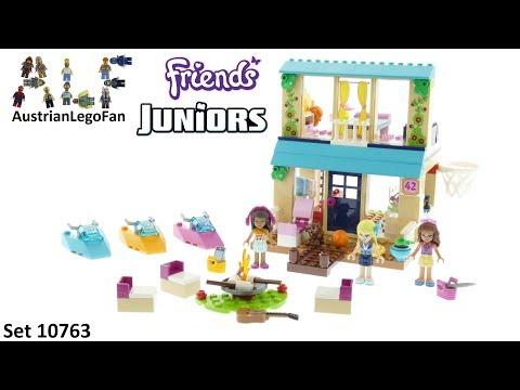 Vidéo LEGO Juniors 10763 : La maison au bord du lac de Stéphanie