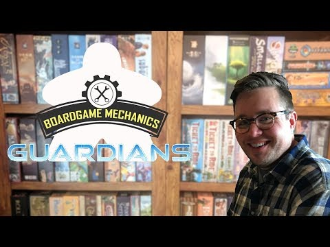 Joel's Cardboard Corner: Guardians