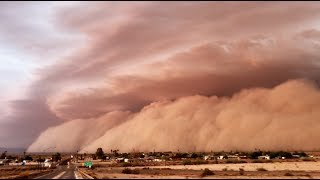 Full Evolution Of MEGA HABOOB In Southern Arizona On July 10, 2018!