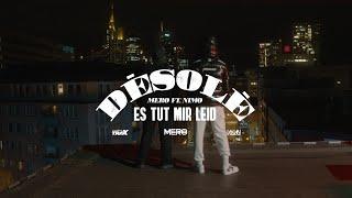 Kadr z teledysku Désolé tekst piosenki MERO & Nimo
