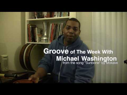 "My groove of the week! Using a Meinl 20"" tar (frame drum), my hand and a Vic Firth Heritage brush!"