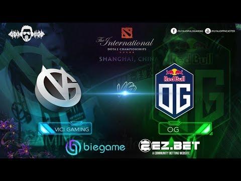 Vici Gaming vs OG  | Best of 2 Game 2 | Group Stage | The International 9