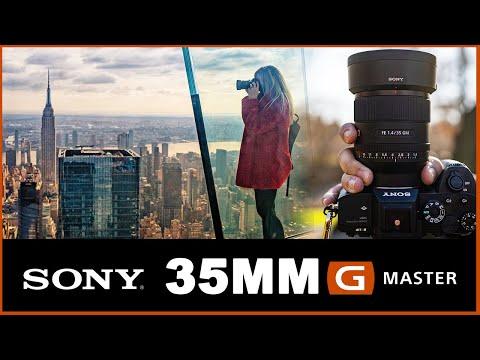 External Review Video bI0kUSEog9g for Sony FE 35mm F1.4 GM Lens