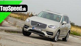 Test Volvo XC90 D5 Inscription TopSpeed.sk