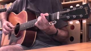 Summer day reflection song - Cover Donovan - Gibson J 45