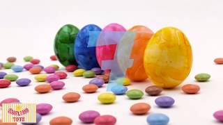 Candy Numbers. Count to 10. Learn counting with sweets and candy. 1-10