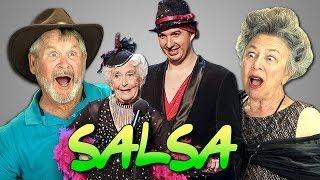 Elders React to Old Woman Dancing - Paddy & Nico