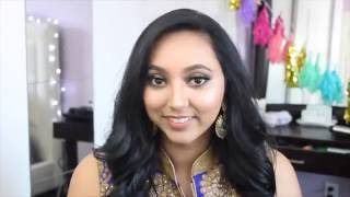 Indian Get Ready With Me | Blue and Gold