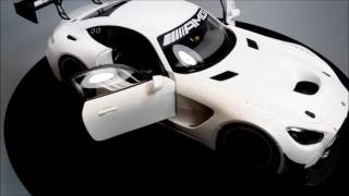 AUTOart Mercedes Benz AMG GT3 Presentation