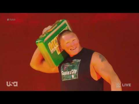 Brock Lesnar And His BoomBox - Old Town Road Entrance | WWE Raw 5-20-2019