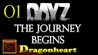 preview picture of video 'DayZ Standalone   #01   The Journey Begins'