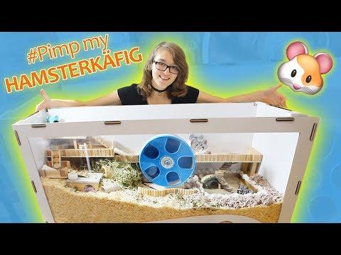 Hamster retten 🐹 ULTIMATIVES TRAUMHAUS 🐾 #PimpmyHAMSTERKÄFIG01 🎬♥