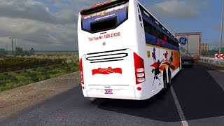 🔴 ShivShahi Bus Accident | Idiot Bus Driver | Euro Truck Simulator 2 (ETS2) Indian Bus Mods