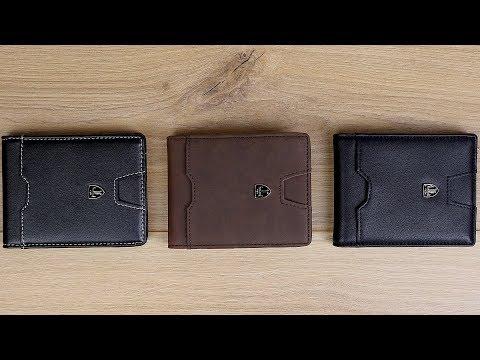 Slim Wallet mit Münzfach und RFID Schutz von Travando! // London, Turin & Dubai // DEUTSCH