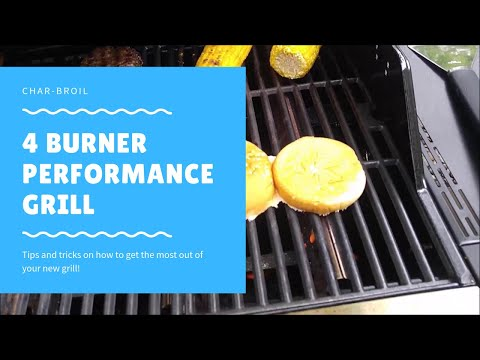 Char-Broil Performance Grill Review