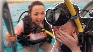 """Anja se je spopadla s svojim največjim strahom: """"Mislim, da sem dejansko pod vodo jokala''"""